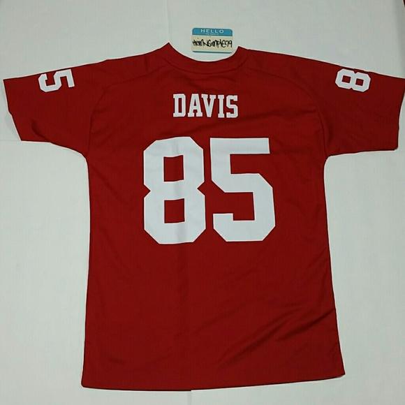 best website dc7ce b3a08 Kids 49ers NFL Jersey Vernon Davis
